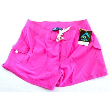 Breeze Solid Stretch Boardshort Pink 8180