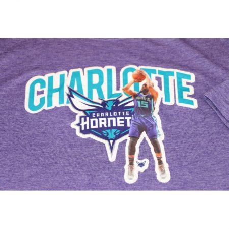 Charlotte Hornets Kemba Walker The Marshall Tee, Purple, XXL