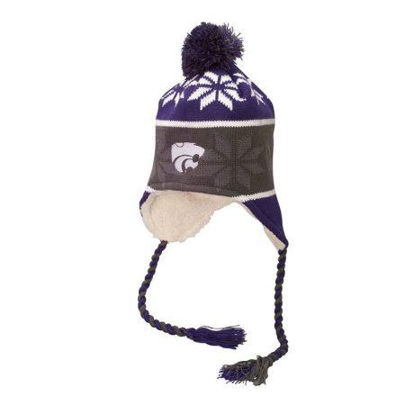 Kansas State Wildcats Ridge Beanie Stocking Hat Cap
