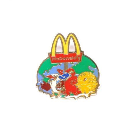 McDonald's 2000 SYDNEY Olympics Sponsor MASCOT Olly Syd Millie Lapel Pin