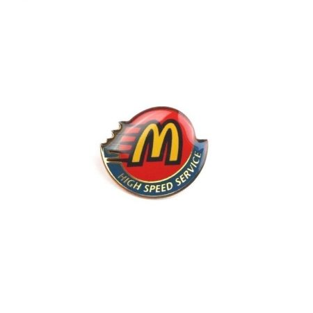 "McDonald's ""High Speed Service"" Pin"