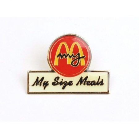 "McDonald's ""My Size Meals"" Pin"