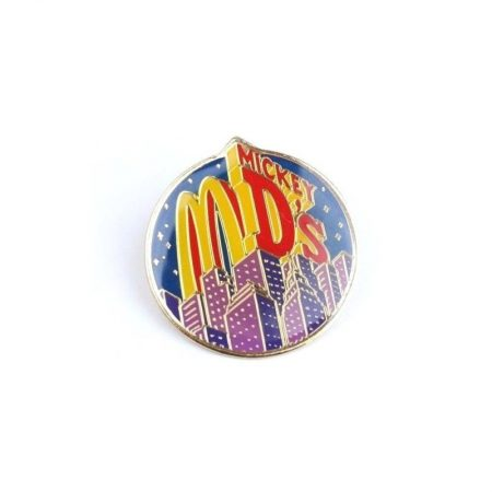 "McDonald's ""Mickey D's"" City Skyline Pin"