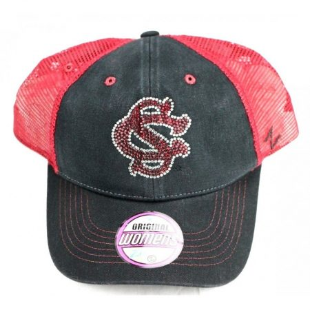 South Carolina Fighting Gamecocks Women's Black Adjustable Hat