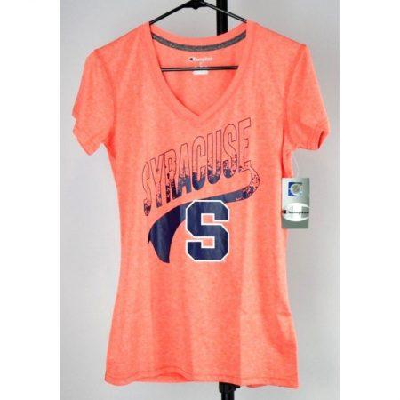 Syracuse Orange Juniors V-Neck T-Shirt, Size S (3/5)